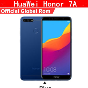 "Original HuaWei Honor 7A 4G LTE Mobile Phone Octa Core Android 8.0 5.7"" IPS 1440X720 3GB RAM 32GB ROM Face ID Fingerprint ID"