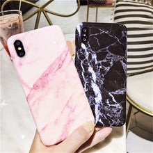 Cover for iPhone 6, 6 Plus, 6S, 6S Plus, 7, 7 Plus,8, 8Plus, X, with a picture of marble