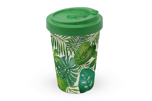 "Travelmug Bambus ""Monstera"""