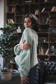 Strickpullover (Mint)