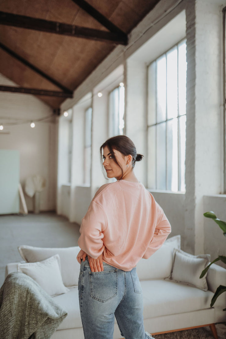 Oversized Pullover (Rosa)