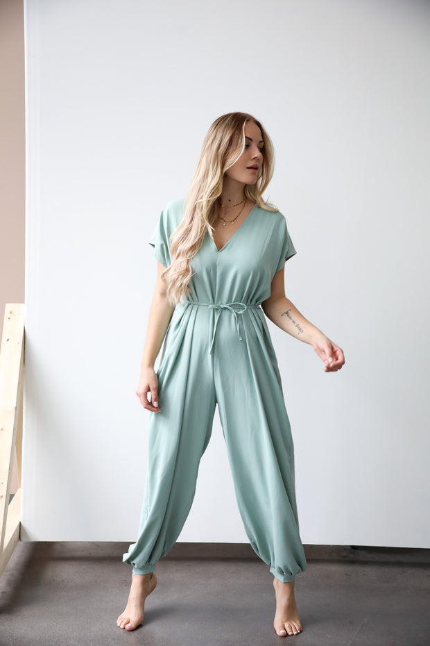 "Jumpsuit ""Ella"" (Mint)"