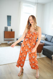 "Jumpsuit ""Amelie"" (Orange)"