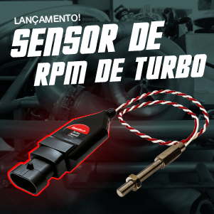 Lançamento Sensor de RPM do Turbo Compressor
