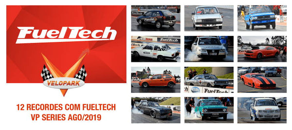 12 RECORDES COM FUELTECH na 3º Etapa do VP Series!