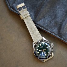 Load image into Gallery viewer, Gray Textured Leather Watch Strap