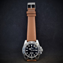 Load image into Gallery viewer, Brown Textured Leather Watch Strap