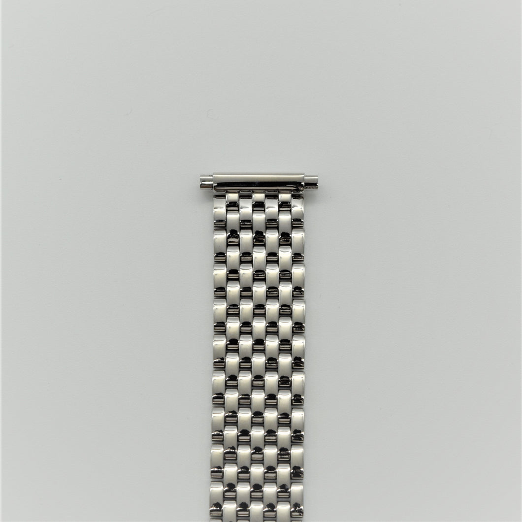 The Upgraded Beads of Rice Watch Bracelet in Polished Stainless Steel