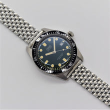 Load image into Gallery viewer, The Upgraded Beads of Rice Watch Bracelet in Polished Stainless Steel