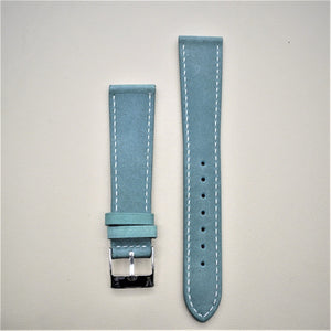 Jade Green Smooth Leather Watch Strap