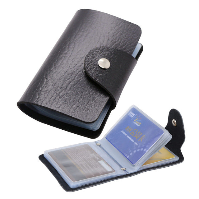 Leather ID Passport Card Wallet - MyLegacyBoutique