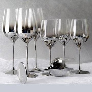 Open image in slideshow, Geraldine Crystal Wine Glasses - MyLegacyBoutique