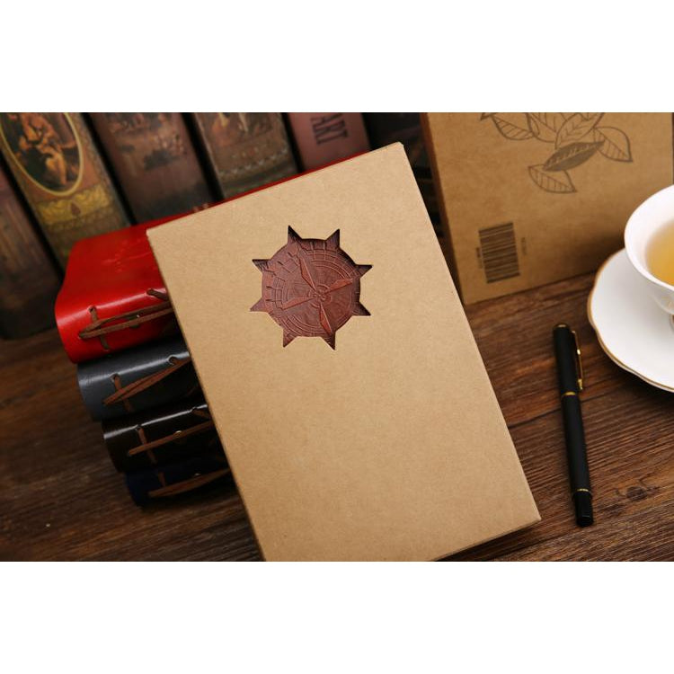 Pirate Vintage Leather Note Book - MyLegacyBoutique