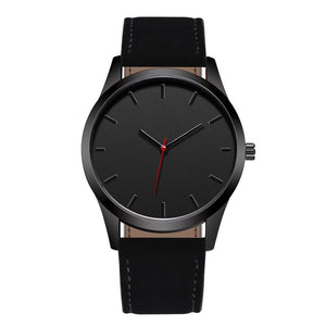 Open image in slideshow, Black Moon Leather Watch - MyLegacyBoutique