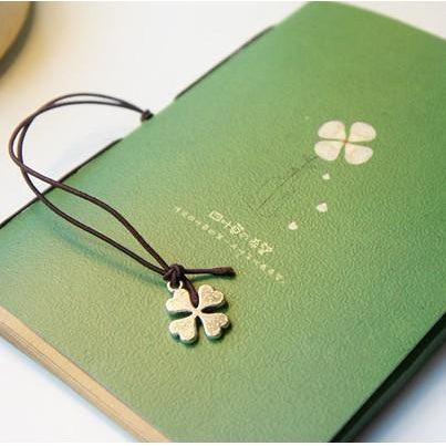 Four Leaf Clover Notebook - MyLegacyBoutique