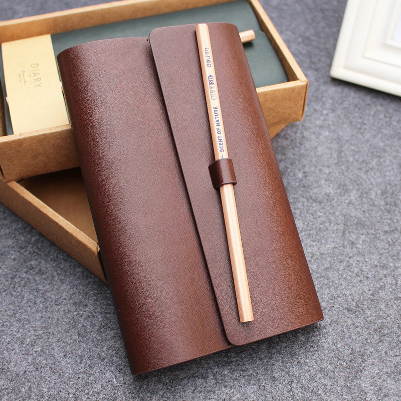 Leather Diary Cover - MyLegacyBoutique