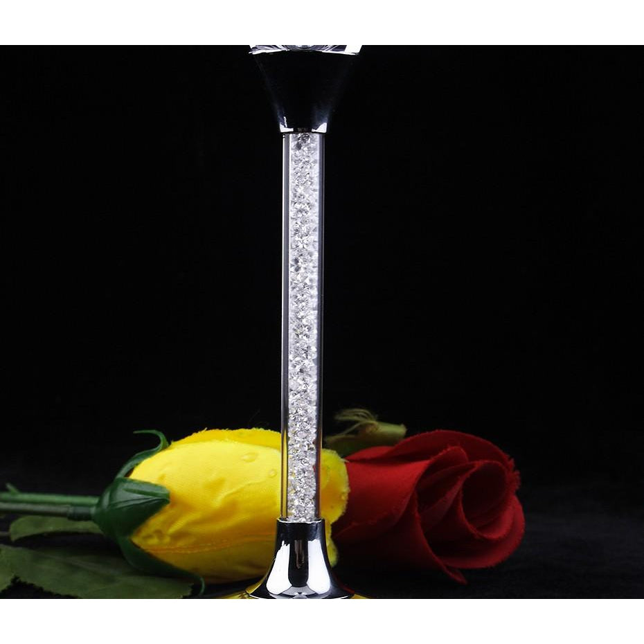 Angela Williams Champagne Glasses - MyLegacyBoutique