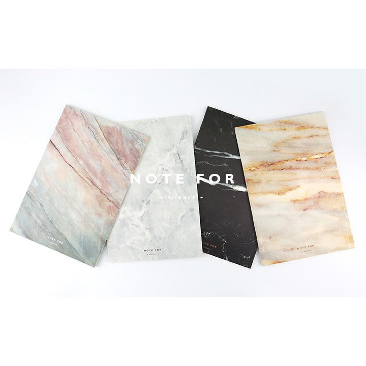 Marble Design Soft Cover Notebook - MyLegacyBoutique