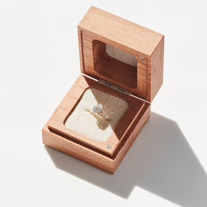 PRESENTATION RING BOX