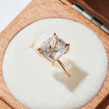 CUSHY SOLITAIRE RING