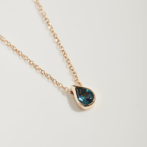 TEARDROP TOPAZ NECKLACE