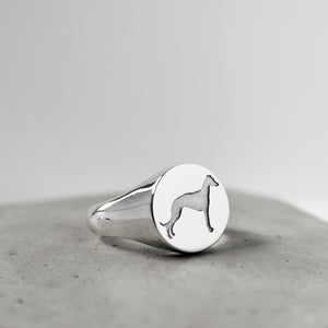 RESCUE ME SIGNET RING