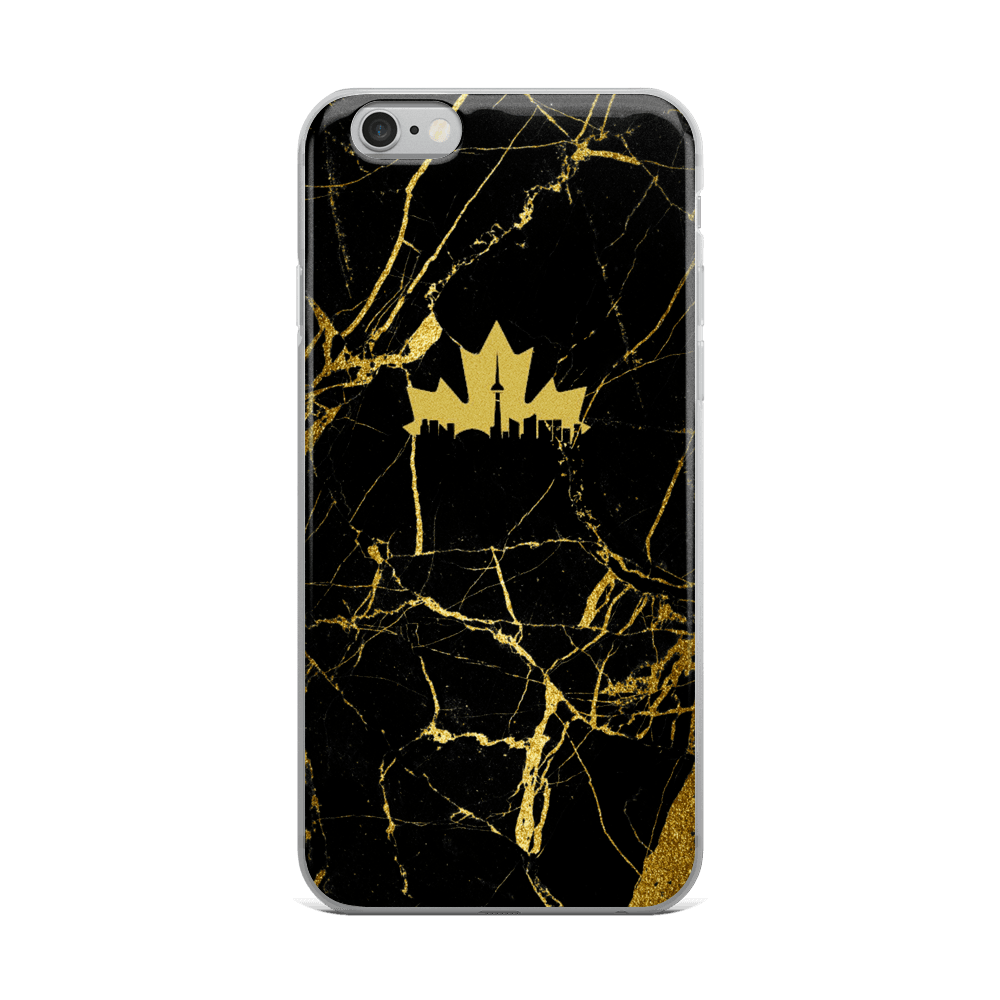 Marble Gold T.O - Premium iPhone Case - Toronto Clothing