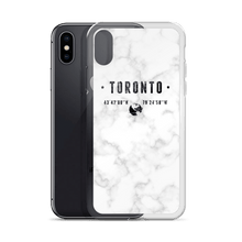 Load image into Gallery viewer, White Marble Coordinates - Premium iPhone Case - Toronto Clothing
