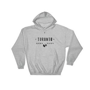 Coordinates of Toronto - Toronto Clothing