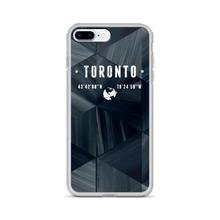 Load image into Gallery viewer, Dark Abstract Coordinates - Premium iPhone Case - Toronto Clothing