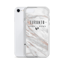 Marble Rose Coordinates - Premium iPhone Case - Toronto Clothing