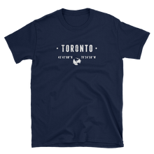 Load image into Gallery viewer, Toronto Coordinates T-Shirt