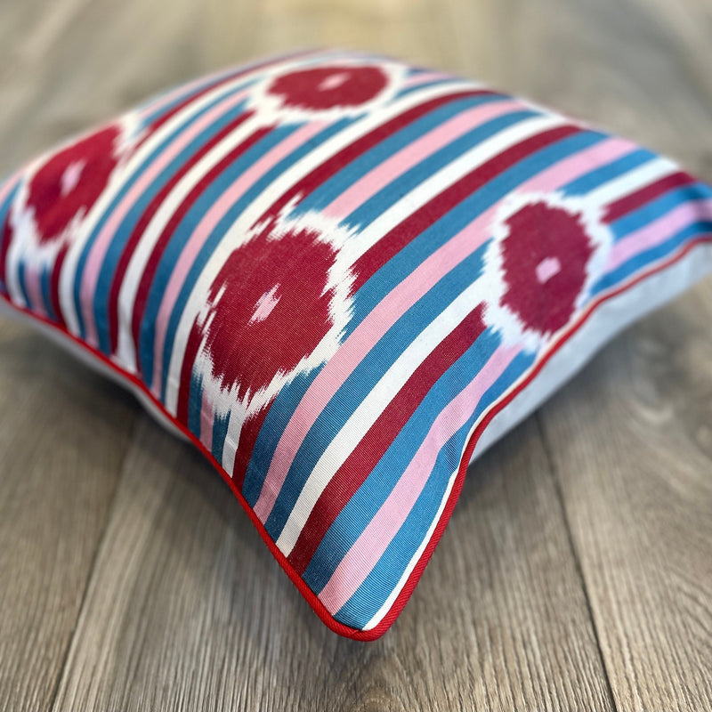 Silk Ikat Cushion Love | Silk Ikat Love
