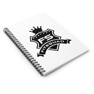 FITSQUAD Spiral Notebook - Ruled Line