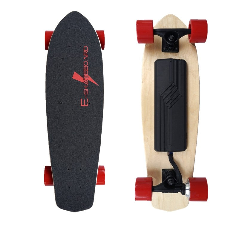 300W Power four wheel electric skateboard