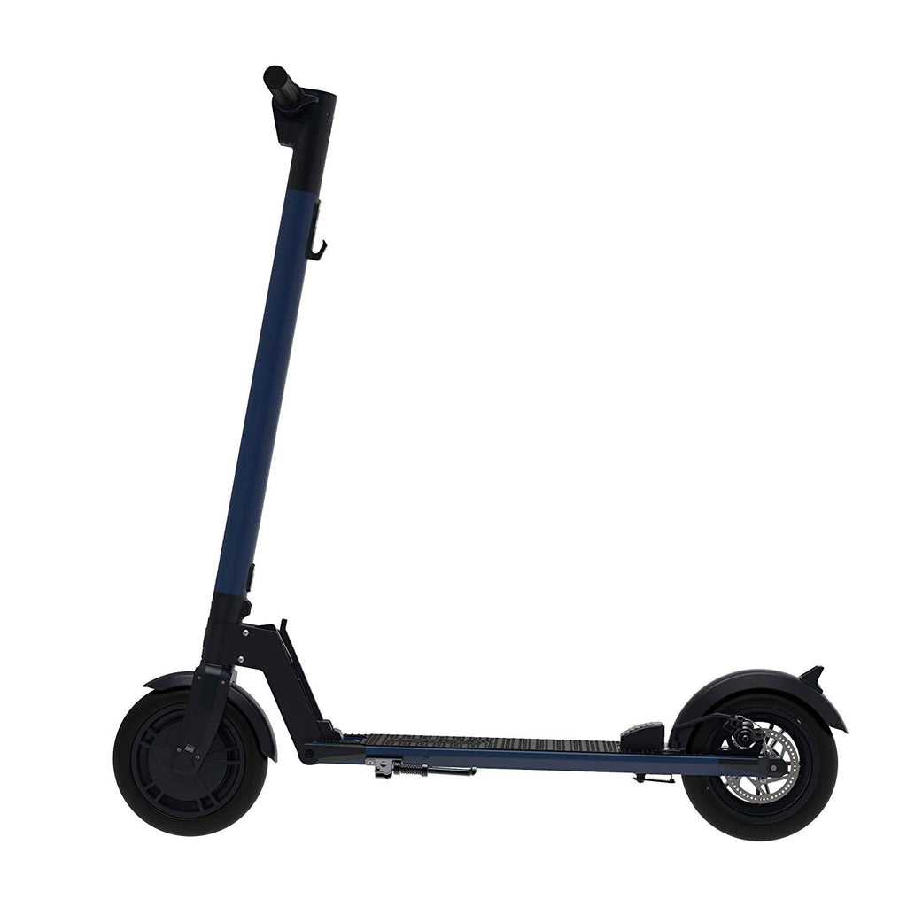 Electric Scooter 8.5 inch wheels Foldable City E-Roller Blue