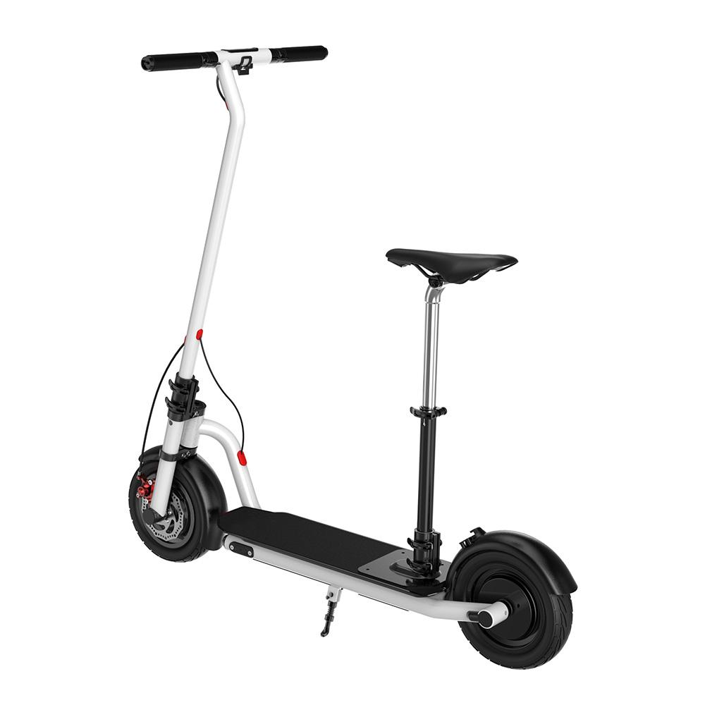 Electric Scooter N7 10inch wheels Foldable City E-Roller White