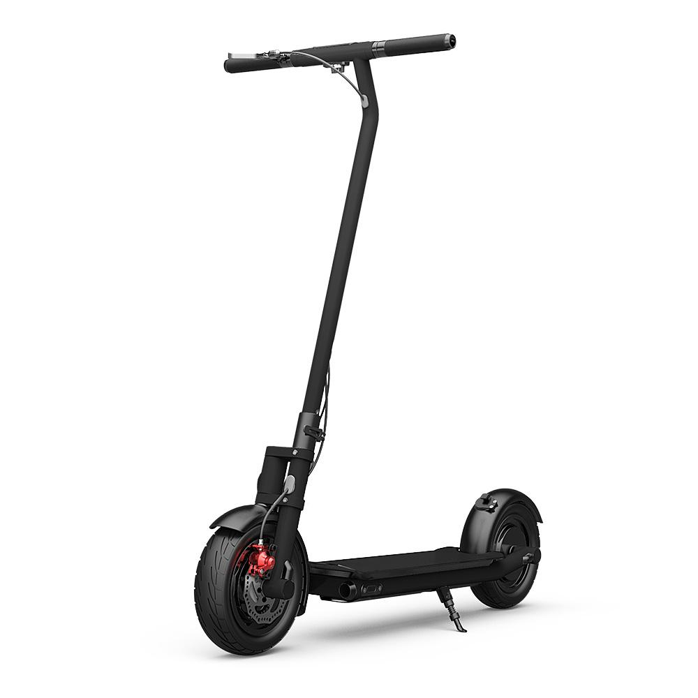 Electric Scooter N7 10inch wheels Foldable City E-Roller Black