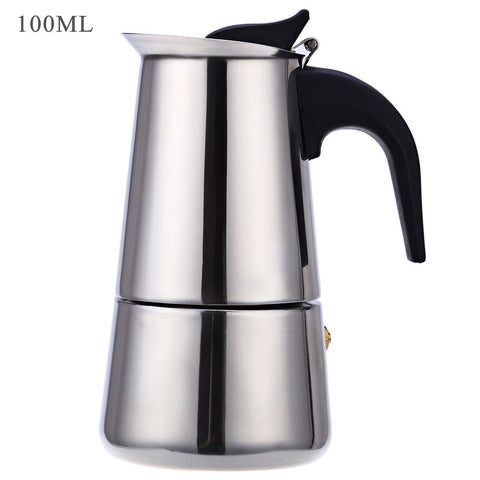 Image of 6 Cups 300ML Stainless Steel Mocha Espresso Latte Percolator Coffee Maker Pot