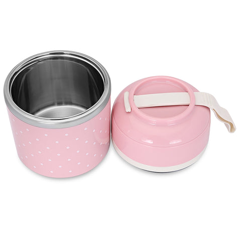 Image of Worthbuy Thermal Lunch Box Stainless Steel Food Container