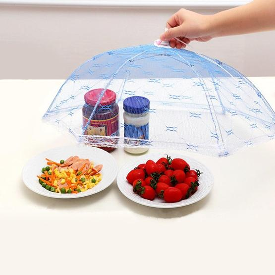 Kitchen Foldable Umbrella Shape Food Net Cover