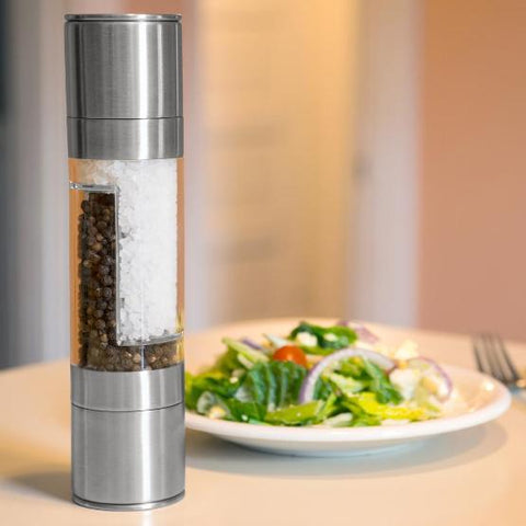 2 in 1 Salt and Pepper Grinder Set