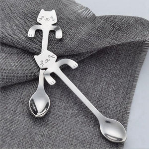 Kitten Coffee Stirring Spoon