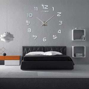 Sparkling 3D Wall Clock