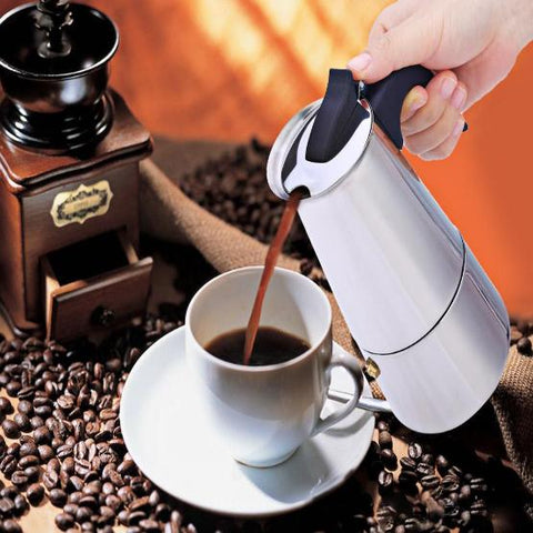 Samikan Espresso Latte Percolator Coffee Maker