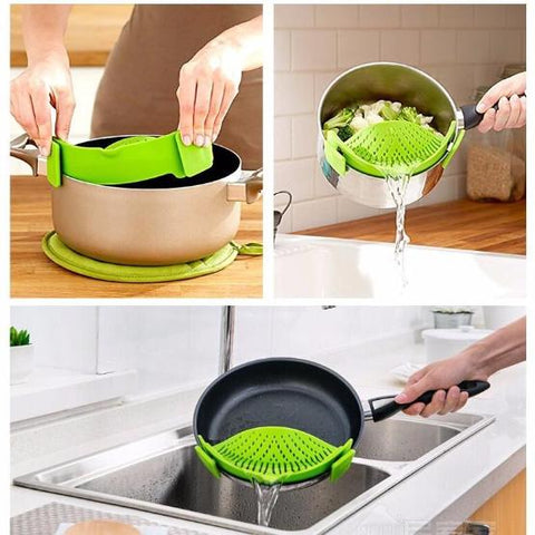 Image of Handy Silicone Strainer