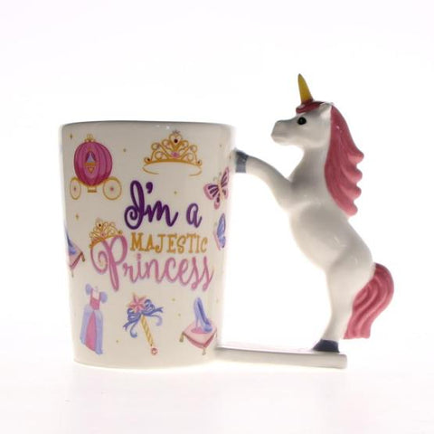 """I am Majestic Princess"" Unicorn Mug"