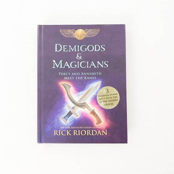Demigods & Magicians, Percy and Annabeth Meet the Kanes - (Rick Riordan) - Beeja May