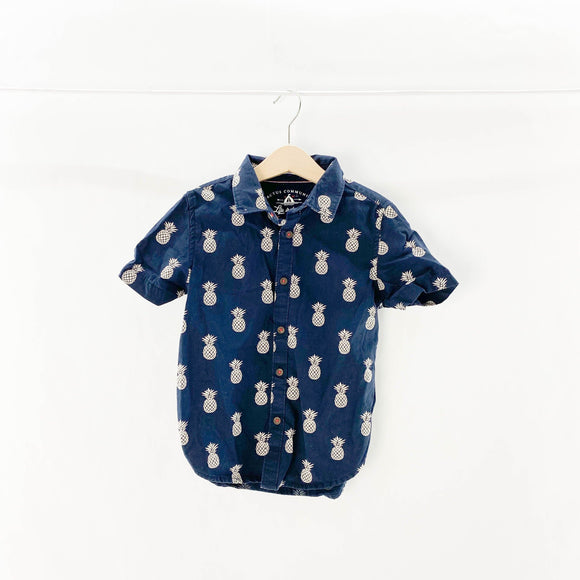 Cactus Community - Short Sleeve Button (4Y) - Beeja May
