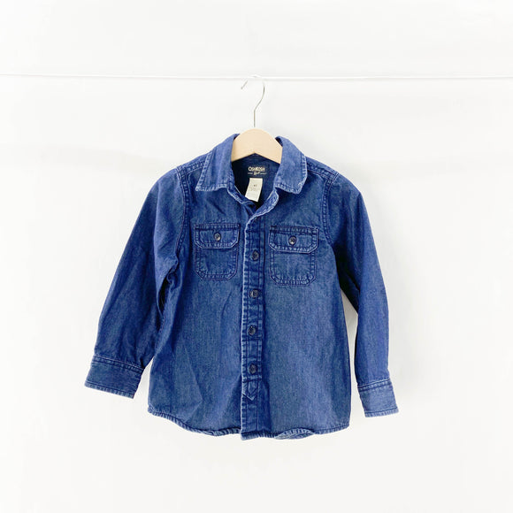 Oshkosh B'gosh - Long Sleeve Button (4Y) - Beeja May